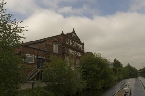 Old Linotype Works at Broadheath