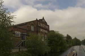 Old Linotype Works at Broadheath