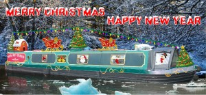 Christmas card boat 2014