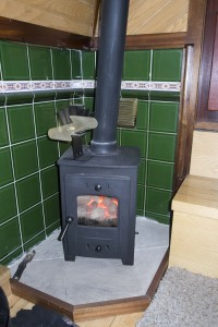 Our tiny solid fuel stove