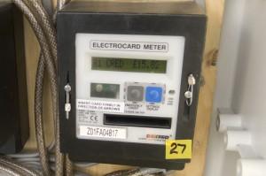Electrocardmeter