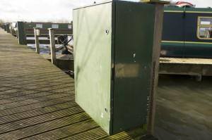 Electrocardmeter housing