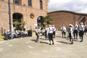 Morris Dance at Albert Dock