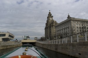 Royal Liver Building (on our way out of Liverpool)