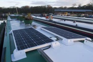 Our new solar panels