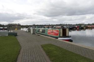 At Swanley Bridge Marina