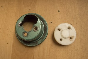 Water Pump Pulley and Spacer