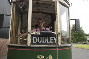 Driving the tram