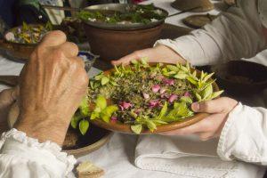 Tudor dish