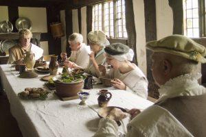 Tudor meal