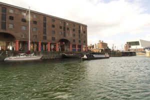 Into Albert Dock