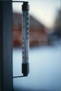 Minus 19ºC at daytime